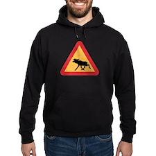 Caution Elks, Sweden Hoodie