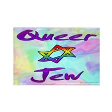 Queer Jew Rectangle Magnet