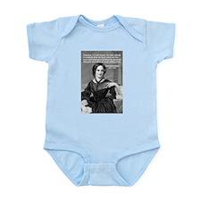 Novelist Charlotte Bronte Infant Creeper