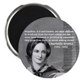 Novelist Charlotte Bronte Magnet