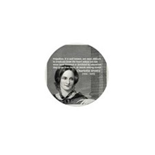 Novelist Charlotte Bronte Mini Button (100 pack)
