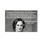 Novelist Charlotte Bronte Rectangle Magnet (100 pa