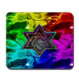 Unique Gay rabbi Mousepad