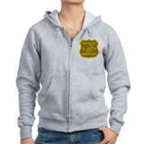 Bugle Player Drinking League Zip Hoody