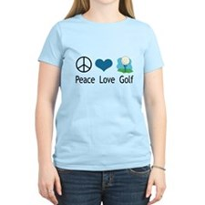 Peace Love Golf T-Shirt