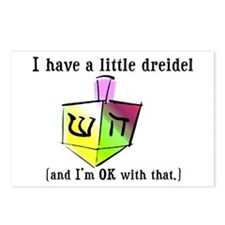 I Have a Little Dreidel Postcards (Package of 8)