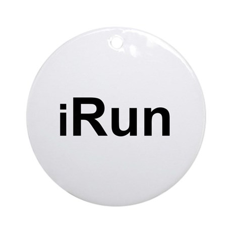 iRun Ornament (Round)