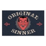 Original Sinner Rectangle Decal