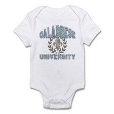 Calabrese Last Name University Infant Bodysuit