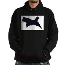 """The Black Dog Hoodie"