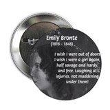 "Novelist: Emily Bronte 2.25"" Button (10 pack)"