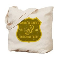 Handbell Ringer Drinking League Tote Bag
