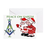 Masonic S&C Tree Greeting Cards (Pk of 10)