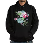 Modern Art Peace Collage Hoodie (dark)