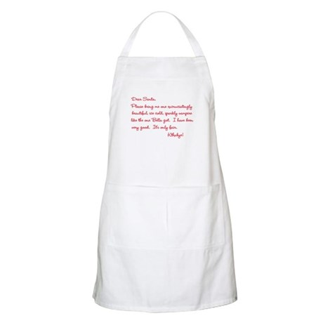 Twilight Edward Christmas BBQ Apron