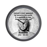 Buddhism Philosophy of Love Wall Clock