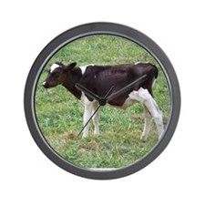 holstein calf Wall Clock