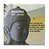 Eastern Philosophy: Buddha Tile Coaster