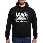 Love is a Mix Tape Hoodie (dark)