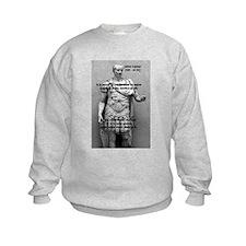 Roman Conqueror: Julius Caesar Kids Sweatshirt