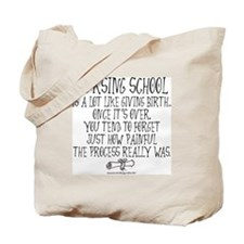 Nursing School like Birth Tote Bag