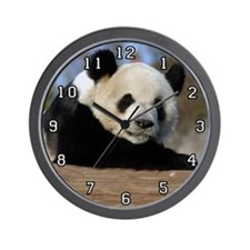 Giant Panda Bear 011 Wall Clock
