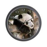 Giant Panda Bear 016 Wall Clock