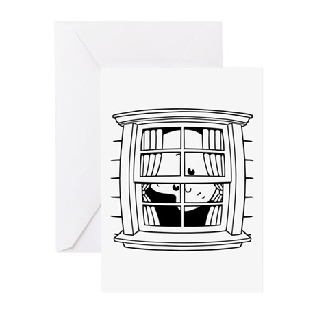 Bedwomb Window Greeting Cards (Pk of 10)