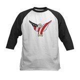 Flagged Eagle Tee