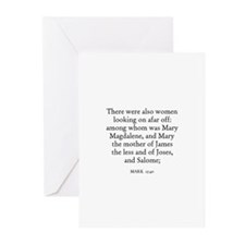 MARK  15:40 Greeting Cards (Pk of 10)