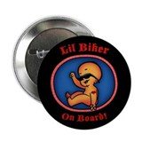 Lil Biker 2.25&quot; Button