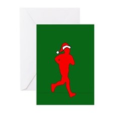 Christmas Runner Greeting Cards (Pk of 10)