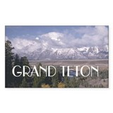 ABH Grand Teton Rectangle Decal