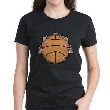 Basketbaby Women's Dark T-Shirt