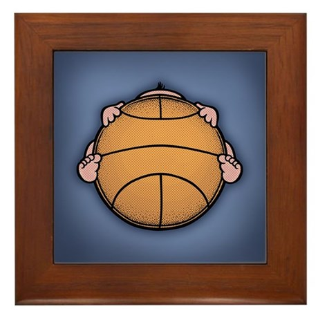 Basketbaby Framed Tile