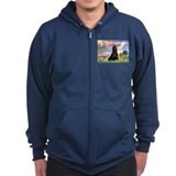 Cloud Angel & Gordon Setter Zip Hoody