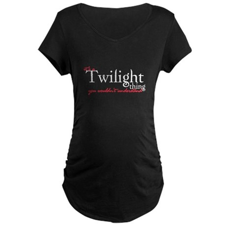 Twilight Thing Maternity Dark T-Shirt