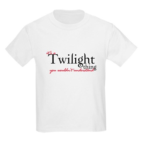 Twilight Thing Kids Light T-Shirt