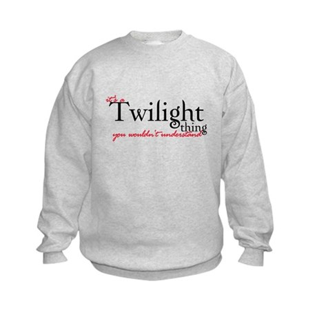 Twilight Thing Kids Sweatshirt