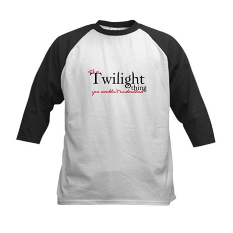 Twilight Thing Kids Baseball Jersey