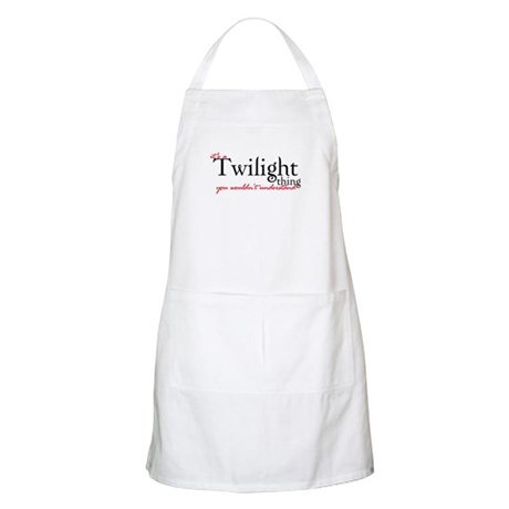 Twilight Thing BBQ Apron