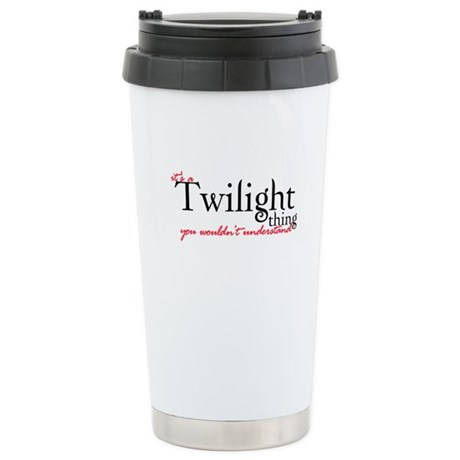 Twilight Thing Ceramic Travel Mug