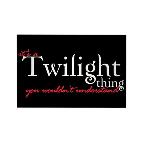 Twilight Thing Rectangle Magnet (100 pack)