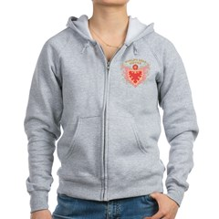 World's Best Sister Women's Zip Hoodie