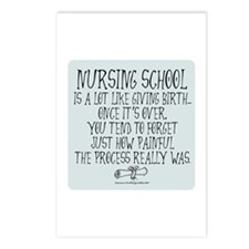 Nursing School like Birth II Postcards (Package of