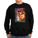 Mandolin Angel / Maltese Sweatshirt (dark)
