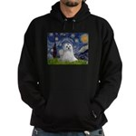 Starry Night & Maltese Hoodie (dark)