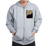 Whistler's Mother Maltese Zip Hoodie