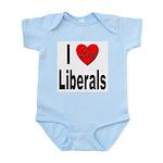 I Love Liberals Infant Creeper