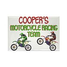 Cooper's Motorcycle Racing Rectangle Magnet